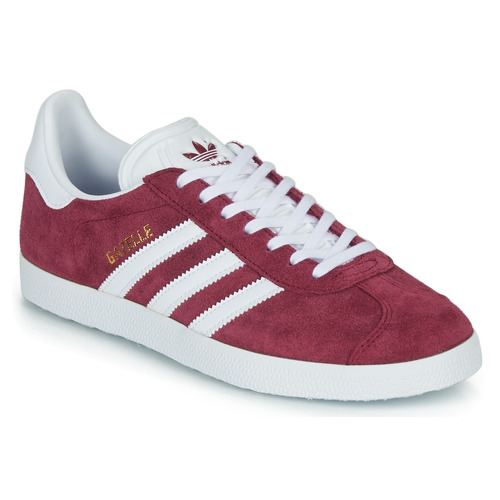 Gazelle Zapatillas Zapatos Bajas Adidas Burdeo Originals If7Y6gvby