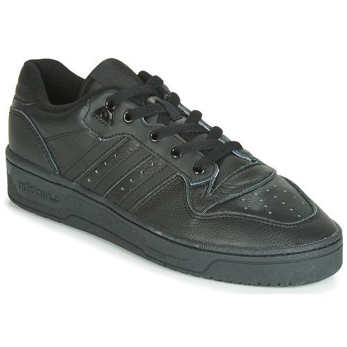 adidas Originals RIVALRY LOW Negro - Envío gratis | ! - Zapatos Deportivas bajas Hombre