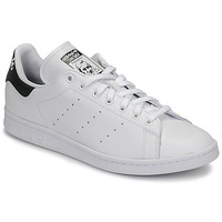 Zapatos Zapatillas bajas adidas Originals STAN SMITH Blanco / Negro