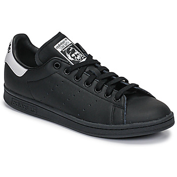 Zapatos Zapatillas bajas adidas Originals STAN SMITH Negro / Blanco