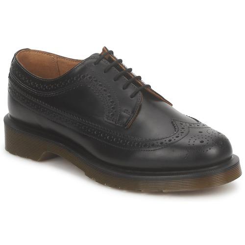 Zapatos casuales salvajes Zapatos especiales Dr Martens 3989 Negro