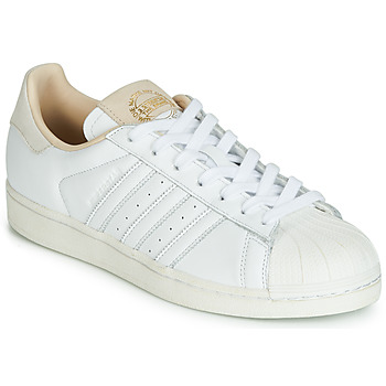 Zapatos Zapatillas bajas adidas Originals SUPERSTAR Blanco / Beige