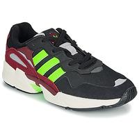 Zapatos Hombre Zapatillas bajas adidas Originals YUNG-96 Negro / Verde