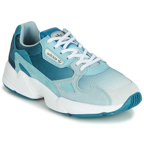 Zapatos Mujer Zapatillas bajas adidas Originals FALCON W Azul