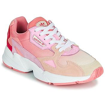 Zapatos Mujer Zapatillas bajas adidas Originals FALCON W Rosa