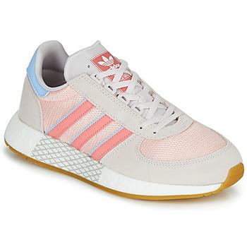 Zapatos Mujer Zapatillas bajas adidas Originals MARATHON TECH W Gris / Rosa
