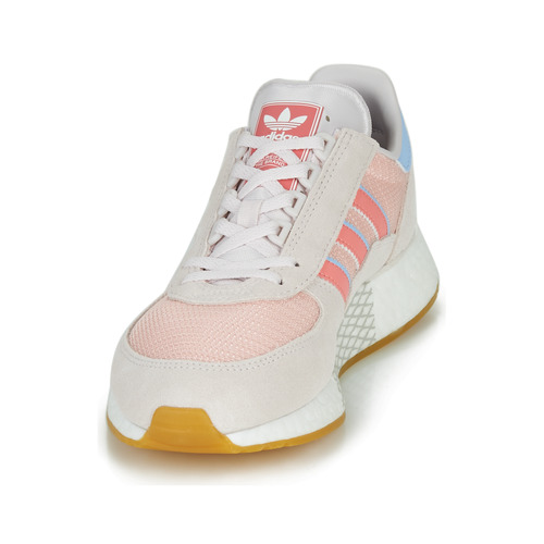 Marathon Zapatos Tech Mujer GrisRosa W Bajas Adidas Zapatillas Originals Pw8On0k