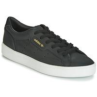 Zapatos Mujer Zapatillas bajas adidas Originals SLEEK W Negro