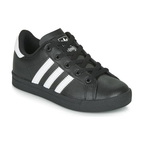 adidas Originals COAST STAR C Negro / Blanco - Envío gratis | ! - Zapatos Deportivas bajas Nino