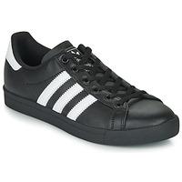 Zapatos Niños Zapatillas bajas adidas Originals COAST STAR J Negro / Blanco
