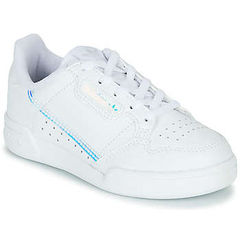 Zapatos Niños Zapatillas bajas adidas Originals CONTINENTAL 80 C Blanco / Azul