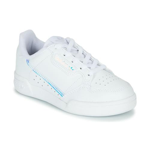adidas Originals CONTINENTAL 80 C Blanco / Azul - Envío gratis | ! - Zapatos Deportivas bajas Nino