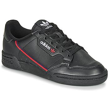 Zapatos Niños Zapatillas bajas adidas Originals CONTINENTAL 80 J Negro