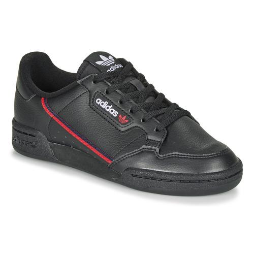 adidas Originals CONTINENTAL 80 J Negro - Envío gratis | ! - Zapatos Deportivas bajas Nino