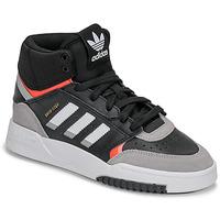 Zapatos Niño Zapatillas altas adidas Originals DROP STEP J Negro / Gris