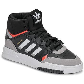 Zapatos Niño Zapatillas bajas adidas Originals DROP STEP J Negro / Gris