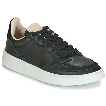 Zapatos Niños Zapatillas bajas adidas Originals SUPERCOURT J Negro