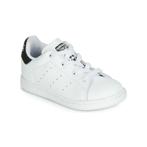adidas Originals STAN SMITH EL I Blanco / Negro - Envío gratis | ! - Zapatos Deportivas bajas Nino