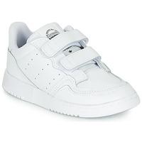 Zapatos Niños Zapatillas bajas adidas Originals SUPERCOURT CF I Blanco