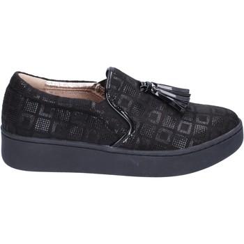 Zapatos Mujer Slip on Uma Parker slip on gamuza sintética negro