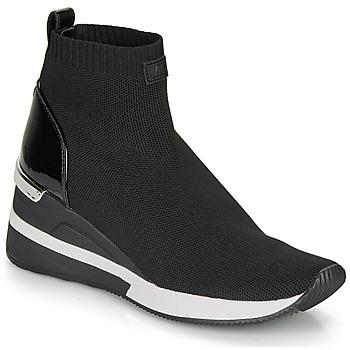 Zapatos Mujer Zapatillas altas MICHAEL Michael Kors SKYLER Negro
