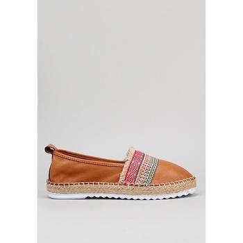 Zapatos Mujer Alpargatas Krack  Marrón