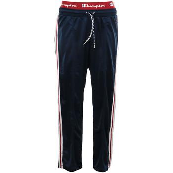 textil Mujer Pantalones de chándal Champion Straight Hem Pants Azul