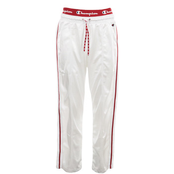 textil Mujer Pantalones de chándal Champion Straight Hem Pants Blanco