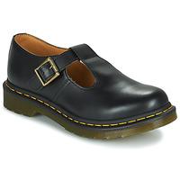 Zapatos Mujer Derbie Dr Martens POLLEY Negro