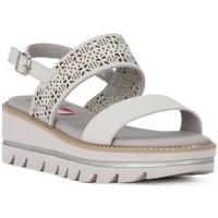 Zapatos Mujer Sandalias CallagHan GREIGE LONG BEACH Grigio
