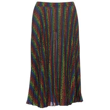 textil Mujer Faldas MICHAEL Michael Kors MULTI LOGO PLEAT SKRT Multicolor