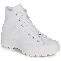 Zapatos Mujer Zapatillas altas Converse CHUCK TAYLOR ALL STAR LUGGED BASIC CANVAS Blanco