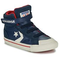 Zapatos Niños Zapatillas altas Converse PRO BLAZE STRAP - HI Navy