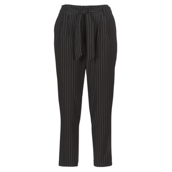 textil Mujer Pantalones con 5 bolsillos Betty London LAALIA Negro / Blanco