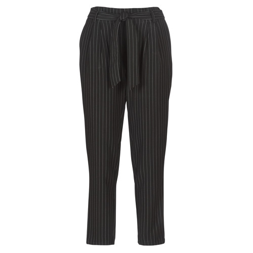 Betty London LAALIA Negro / Blanco - Envío gratis | ! - textil pantalones con 5 bolsillos Mujer