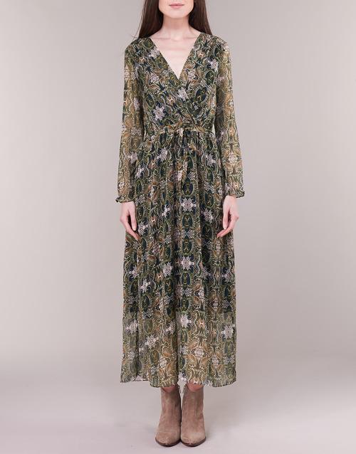 Betty London LILIE-ROSE Verde / Multicolor - Envío gratis |  ! - textil vestidos largos Mujer