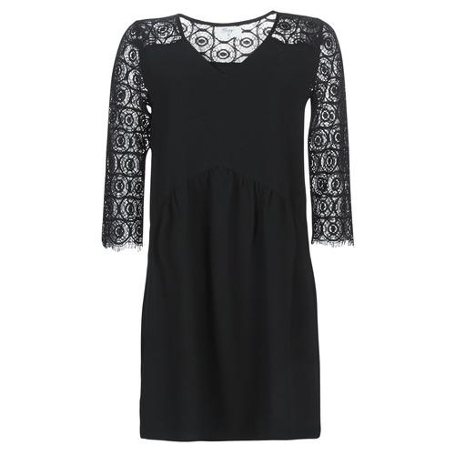 Betty London LUUNA Negro - Envío gratis | ! - textil vestidos cortos Mujer