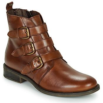 Zapatos Mujer Botas de caña baja Betty London LENA Cognac