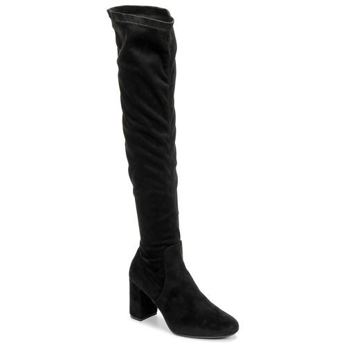 Betty London LAHNA Negro - Envío gratis   ! - Zapatos Botas a la rodilla Mujer