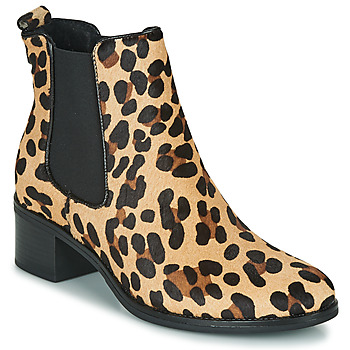 Zapatos Mujer Botines Betty London HASNI Leopardo