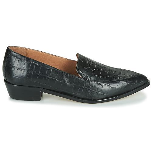 Zapatos Mujer Lettie London Mocasín Betty Negro QrxBdoeCW