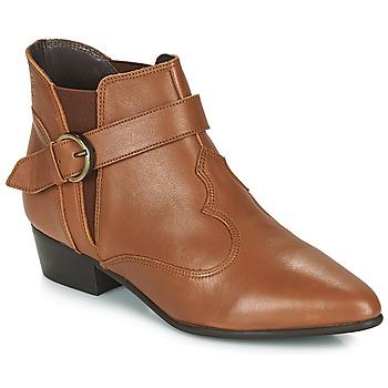 Zapatos Mujer Botas de caña baja Betty London LYDWINE Cognac