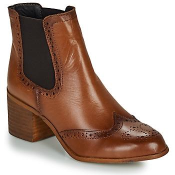 Zapatos Mujer Botines Betty London LARISSA Cognac