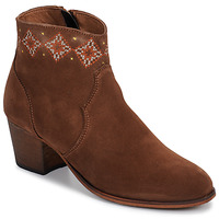 Zapatos Mujer Botines Betty London LAURE-ELISE Camel