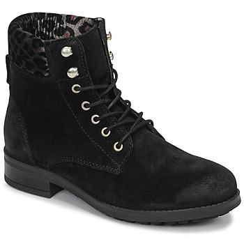 Zapatos Mujer Botas de caña baja Betty London LIVIANE Negro