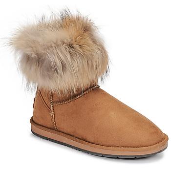 Zapatos Mujer Botas de caña baja Kaleo JADES Camel