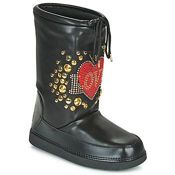 Zapatos Mujer Botas de nieve Love Moschino SKI BOOT Negro