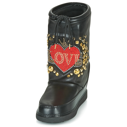 Moschino Zapatos Mujer Ski De Botas Love Boot Nieve Negro sdCthrxQ