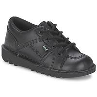 Zapatos Niños Zapatillas bajas Kickers KICK LOTOE Negro