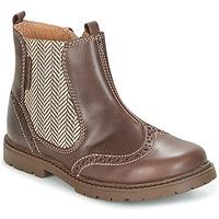 Zapatos Niños Botas de caña baja Start Rite DIGBY Marrón
